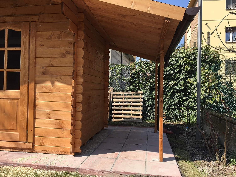 Casita de madera de jardín dekalux 3 x 2: Amazon.es: Jardín