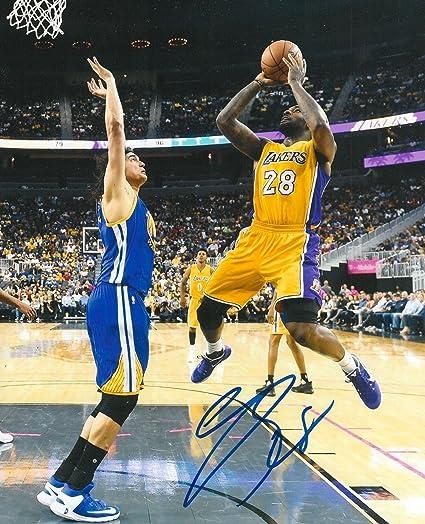 799399fac Signed Tarik Black Photo - 8X10 COA A - Autographed NBA Photos at ...