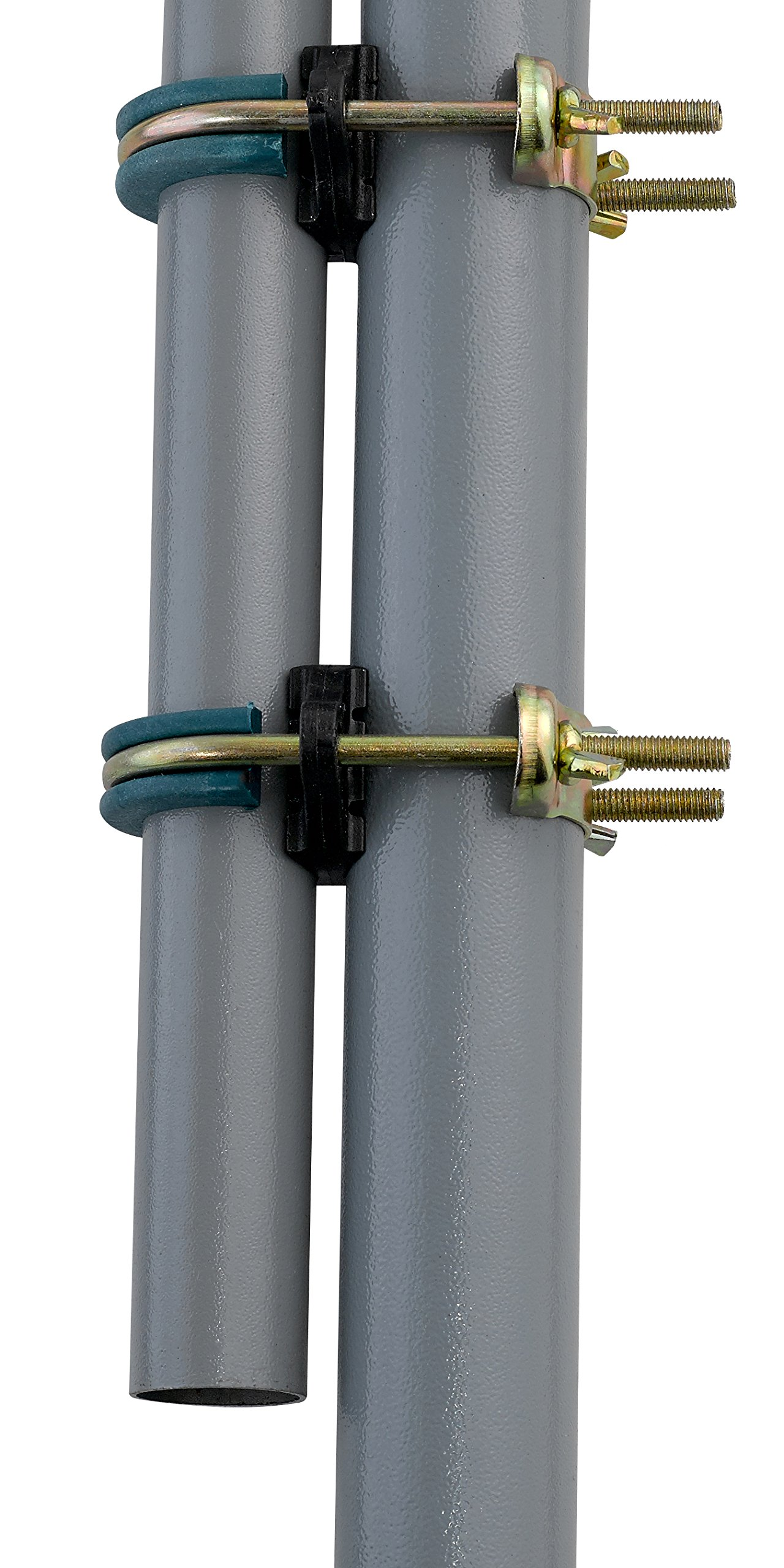 Upper Bounce Trampoline Enclosure Pole Connecter, Fits for Poles Measuringup to 1.5'' Diameter, Andup to 1.75'' Diameter Leg by Upper Bounce (Image #5)