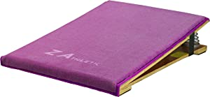 Z ATHLETIC Gymnastics Junior Springboard with Padded Carpet Top Multiple Colors