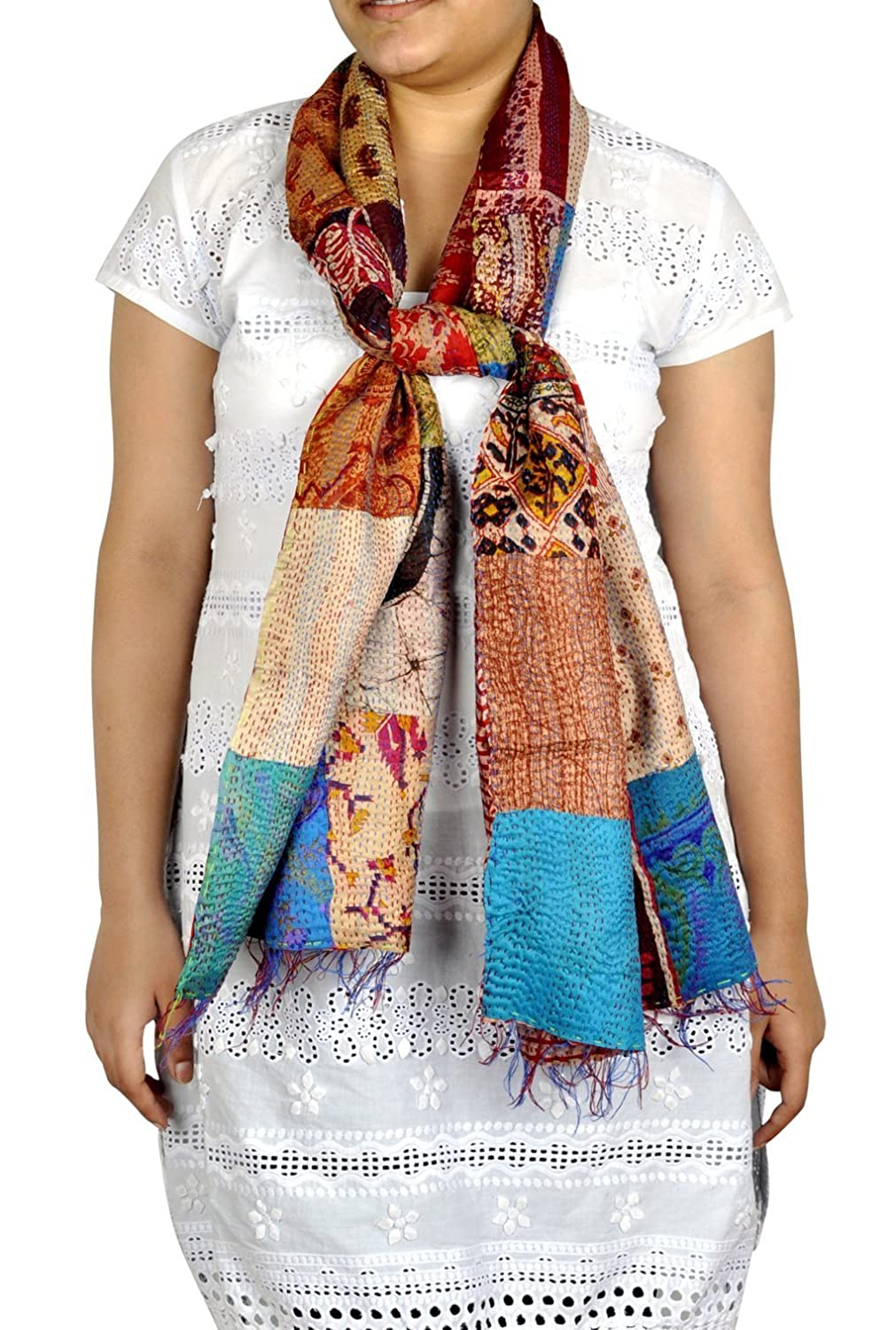 Indian Art Work Design New Charming Girls Scarve Shawl