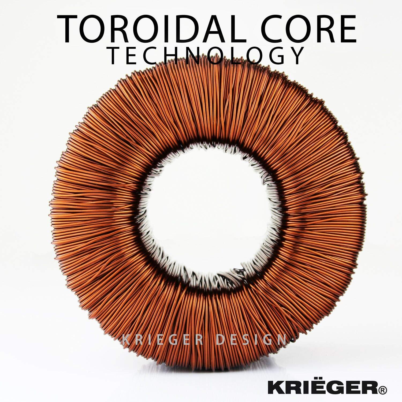 - 220//230V pour une utilisation en Europe et en Am/érique du Nord Fabrication Krieger a d/évelopp/é un ultra-efficaces et durables transformateurs de tension - Cette nouvell KRI/ËGER 850 Watt transformateur de tension 110//120V