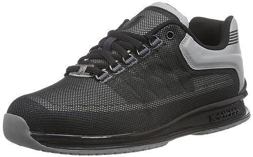 K-Swiss Men's Rinzler Trainer Low-Top Sneakers, Grey (Stingray/Black