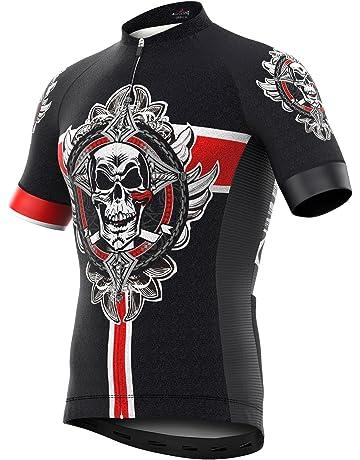 1b35d4b87 Men s Short Sleeve Cycling Jersey Full Zip Moisture Wicking
