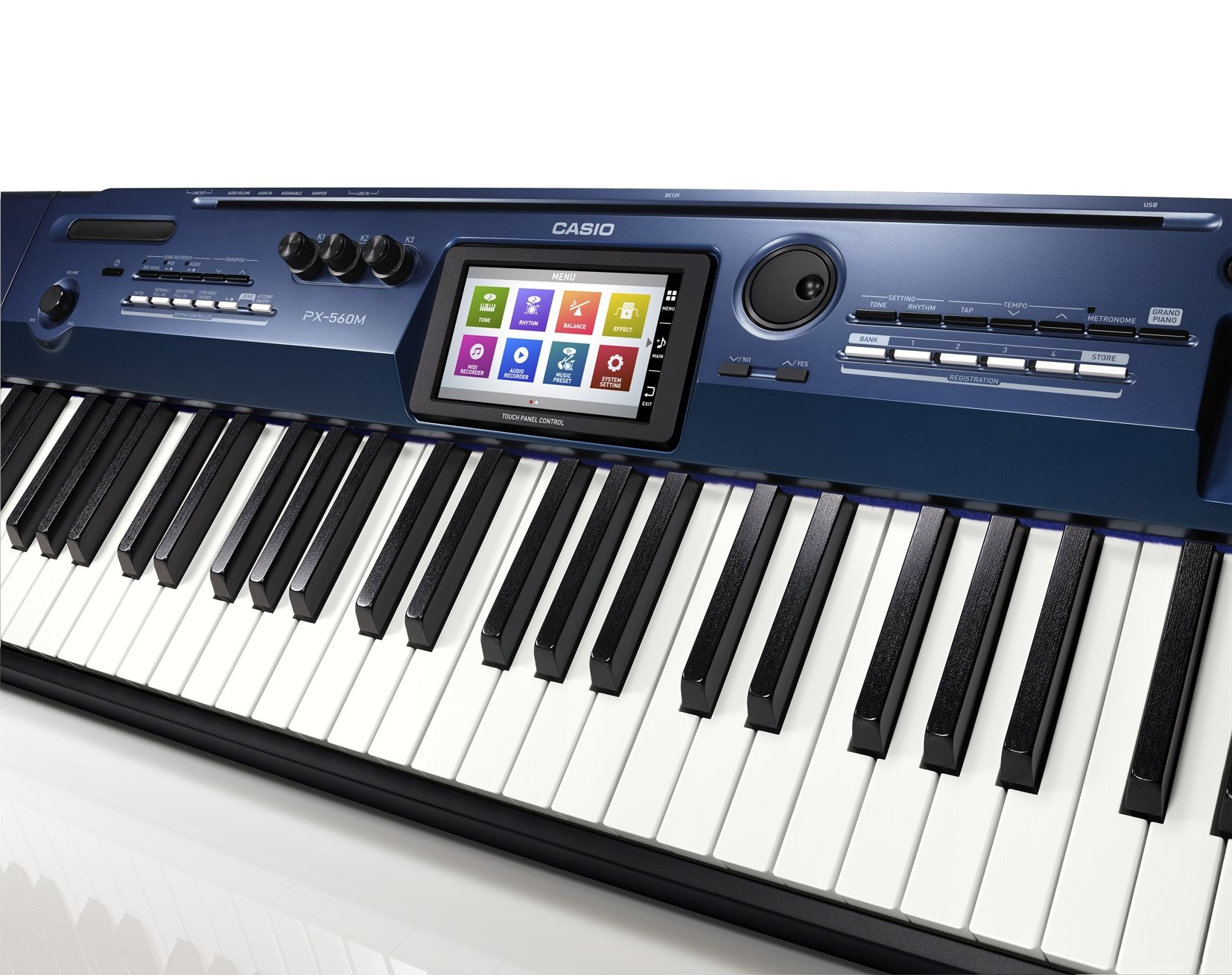 Comfortable Keyboard of Casio px 560