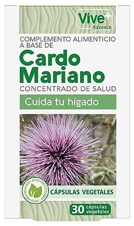 Vive+ Advance Cardo Mariano, Suplemento Alimenticio - 3 Paquetes de 30 Cápsulas: Amazon.es: Salud y cuidado personal