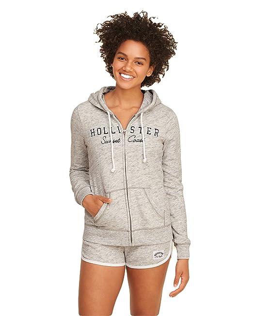 Hollister - Sudadera - para mujer beige Medium: Amazon.es: Ropa y accesorios