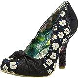 Womens Irregular Choice Smartie Pants Evening Pumps Shoes Mid Heels