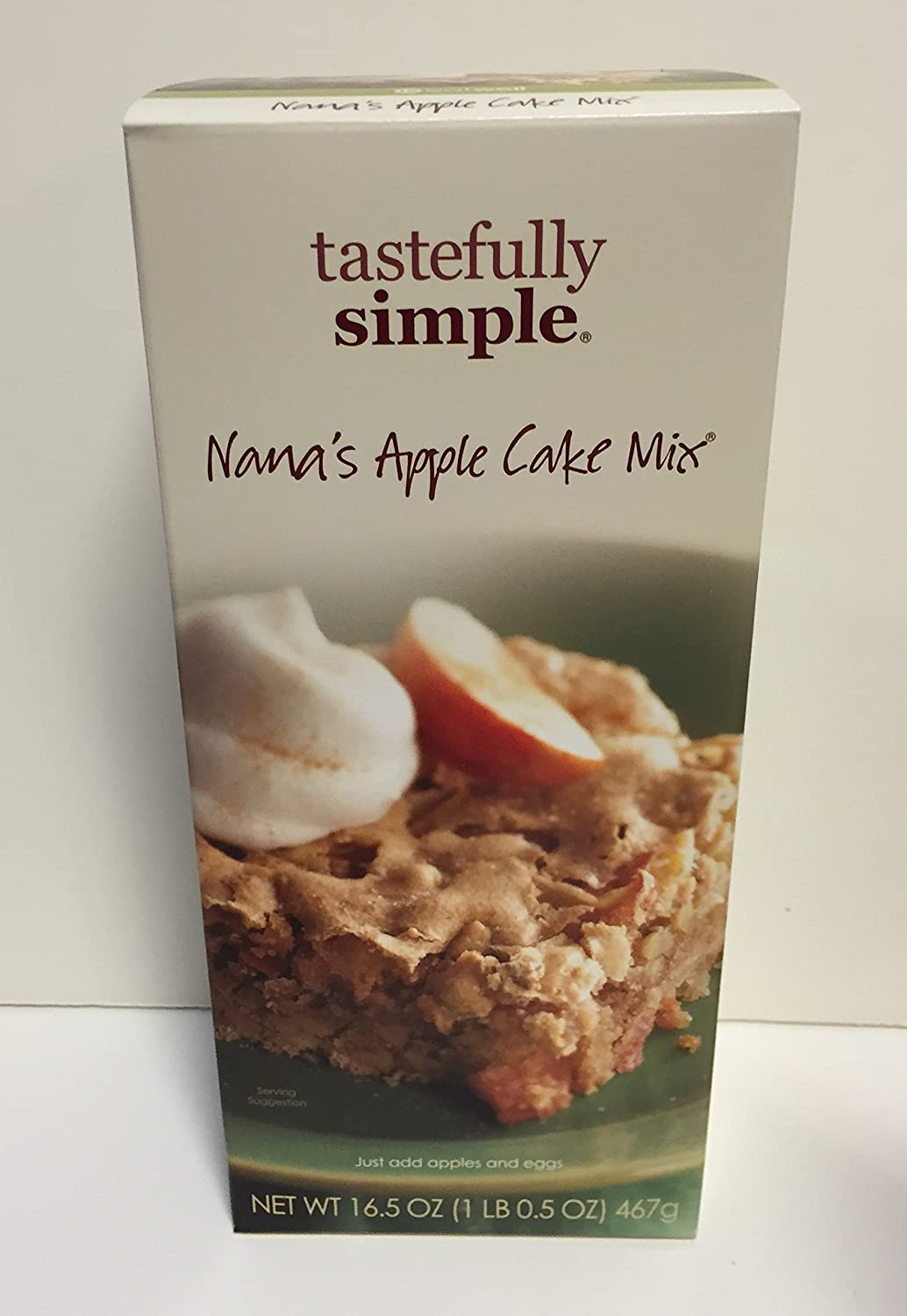 Amazon.com : Tastefully Simple Nana\'s Apple Cake Mix : Grocery ...