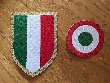 Footex Patch Diana Copa Italia + Escudo Serie A 2016 - 17 para camiseta Juventus: Amazon.es: Deportes y aire libre
