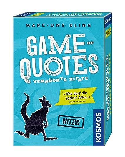 Spiele Kosmos Game of Quotes