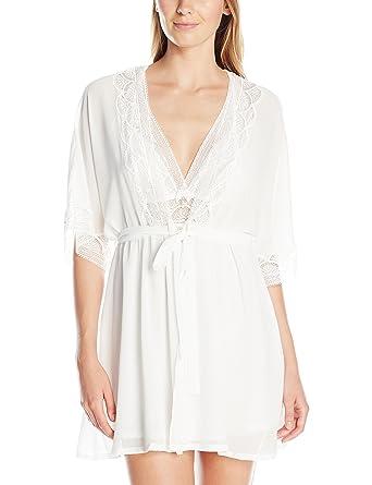 Cinema Etoile Women s Nina Halter Babydoll   Short Chiffon Wrap Robe at  Amazon Women s Clothing store  db203dbe1
