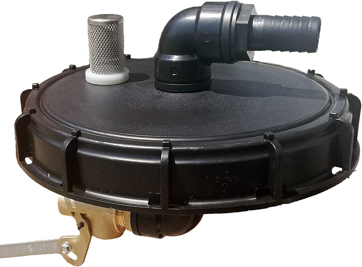 FN-Technik Rain water inlet set with overfill protection for IBC lid DN 225.