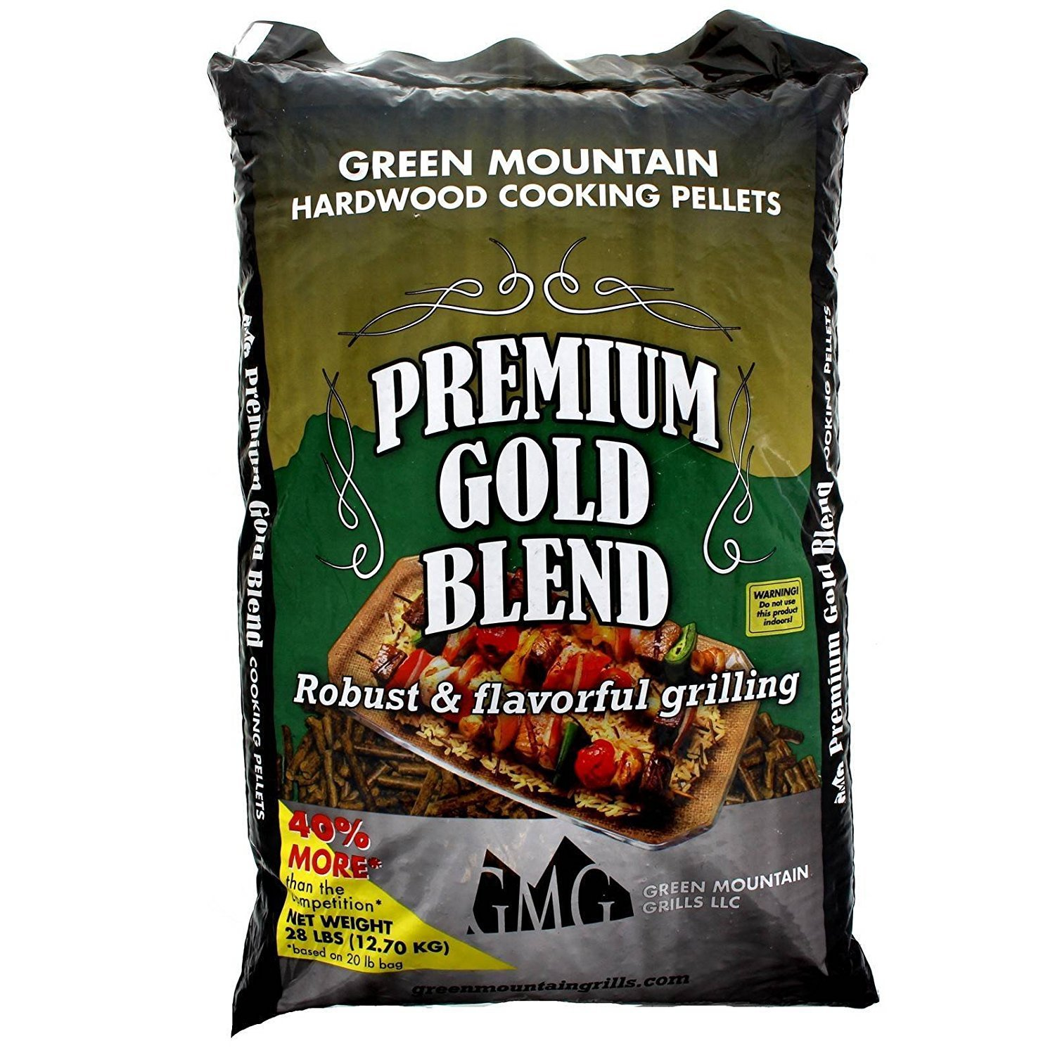 Green Mountain Grills Premium Gold, Texas, and Fruitwood Hardwood Grill Pellets by Green Mountain (Image #2)