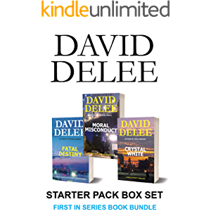David DeLee Starter Pack Box Set: First in Series: Crime Thriller Book Bundle
