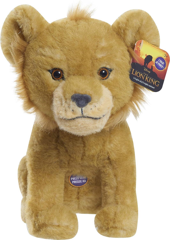 Amazon Com Lion King Live Action 9 Bean Simba Plush Toys Games