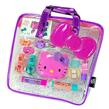 f870cb468d Image Unavailable. Image not available for. Color  GBG Beauty Sanrio Hello  Kitty Girls Cosmetics Tote Bag ...