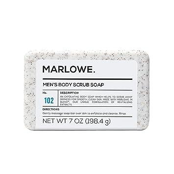 Amazon Com Marlowe No 102 Men S Body Scrub Soap 7 Oz Best