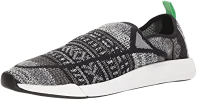 db0798d6fe01d Amazon.com | Sanuk Unisex Chiba Quest Knit Sneaker, Black/Grey, 12 ...