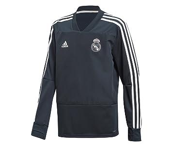 adidas Real Madrid Training Top Sudadera, Unisex niños: Amazon.es: Deportes y aire libre