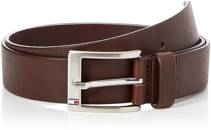 Tommy Hilfiger Men's New Aly Belt, Brown (Testa Di Moro-Eur),