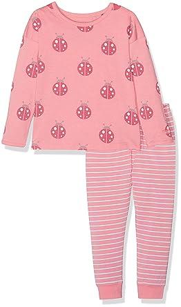 b5cd698a39 Bellybutton Kids Baby-Mädchen Zweiteiliger Schlafanzug 2tlg. T-Shirt 1/1 Arm