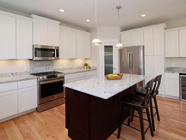 Amazon.com: 4x4 White Shaker Designer All Wood Kitchen Cabinet