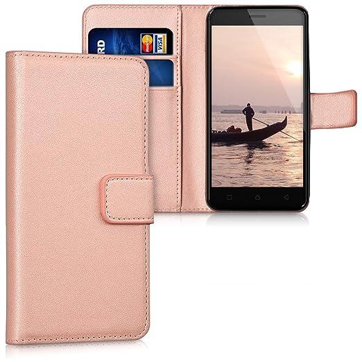10 opinioni per kwmobile Custodia portafoglio per Lenovo K6- Cover a libro in simil pelle Flip