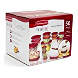 Amazon Price History for:Rubbermaid 50-Piece Easy Find Lid Food Storage Set