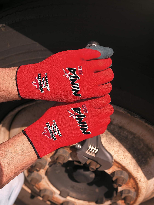 Memphis Glove 127-N9680S Ninja Flex Calibre 15 Red100 Pct ...