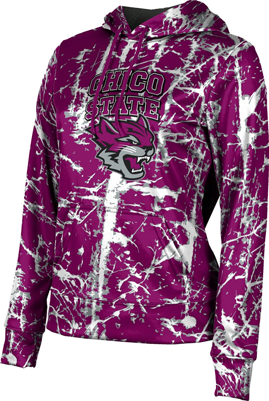 Distressed ProSphere California State University Chico Girls Pullover Hoodie School Spirit Sweatshirt