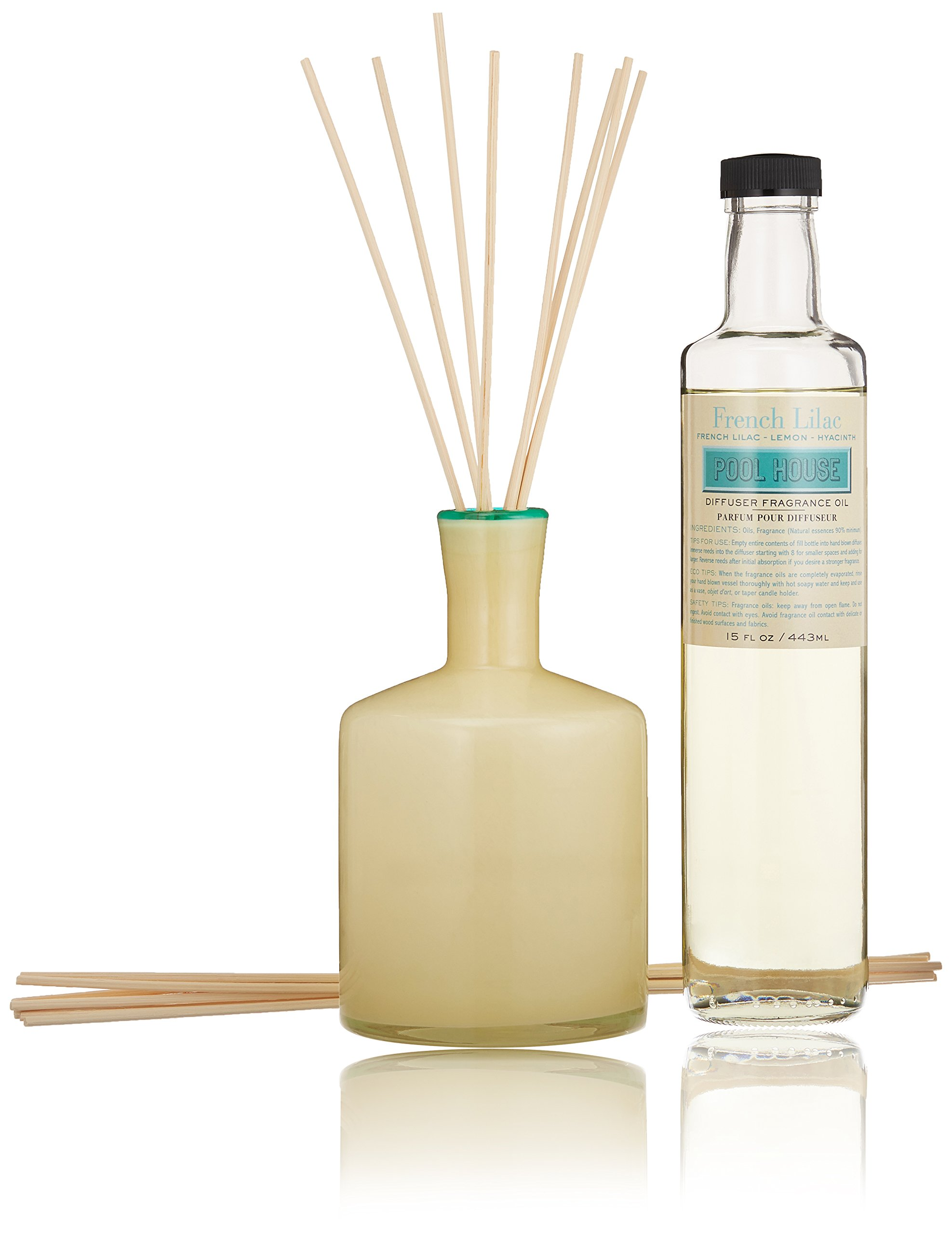 LAFCO House & Home Diffuser, Pool House French Lilac, 15 Fl Oz by LAFCO