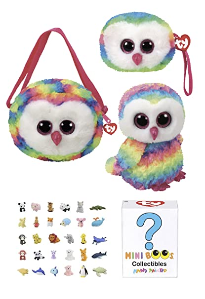 85fc1549077 Buy Animal TY Beanie Boos Babies Gift Set - Owl Purse