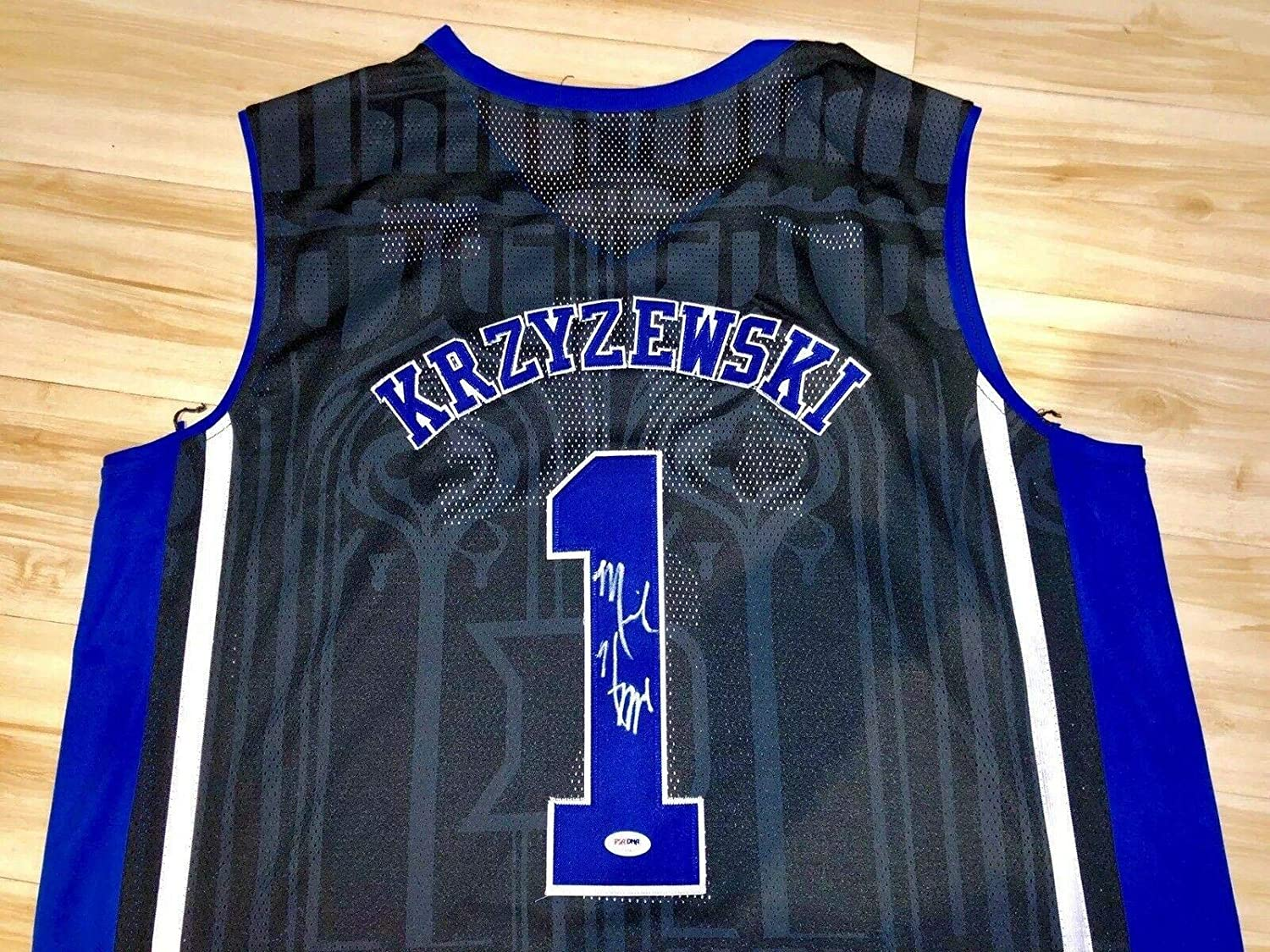 acf48f859 Autographed Mike Krzyzewski Jersey - Coach K NCAA Cert - PSA DNA Certified  - Autographed College Jerseys at Amazon s Sports Collectibles Store