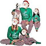Set di Pigiama Famiglia Di Natale - Papà mamma bambini bambino Sleepwear - hibote