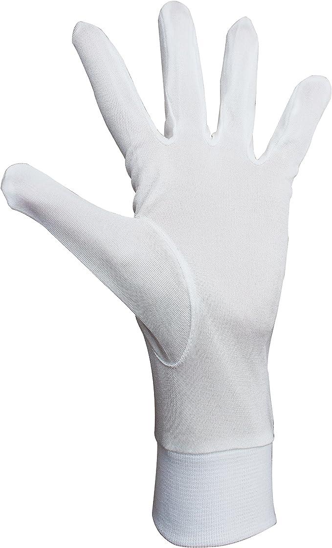 Jasmine Silk Pure silk Liner Gloves Thermal Ski Inner Gloves BLACK