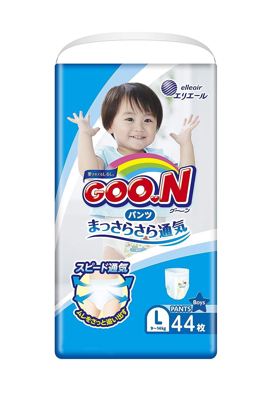 9-14 kg GOO.N Baby Windelh/öschen f/ür Jungen Gr 44 St/ück Premium Qualit/ät Made in Japan L