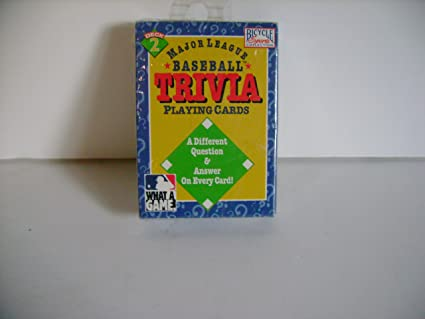 Amazon.com: Major League Baseball Trivia Juego de cartas ...