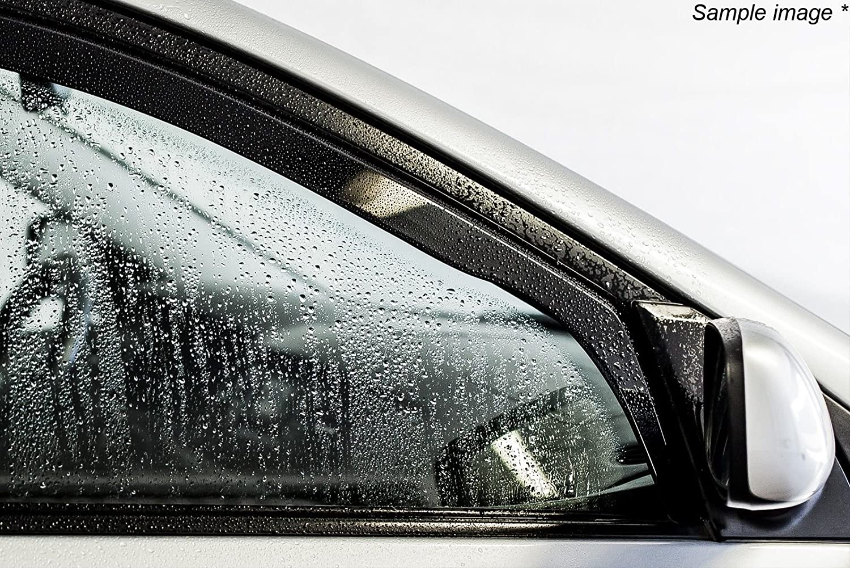 ISPEED Wind Deflectors FOR VAUXHALL ASTRA mk6 J 3-doors GTC SRI 2010-2015 2-pc Tinted