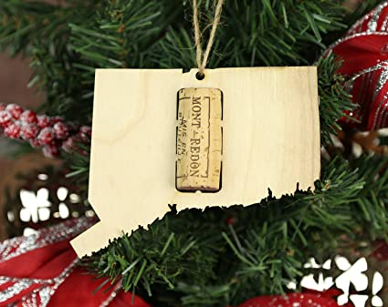 Amazoncom Wooden Shoe Llc Connecticut Wine Cork Christmas Tree