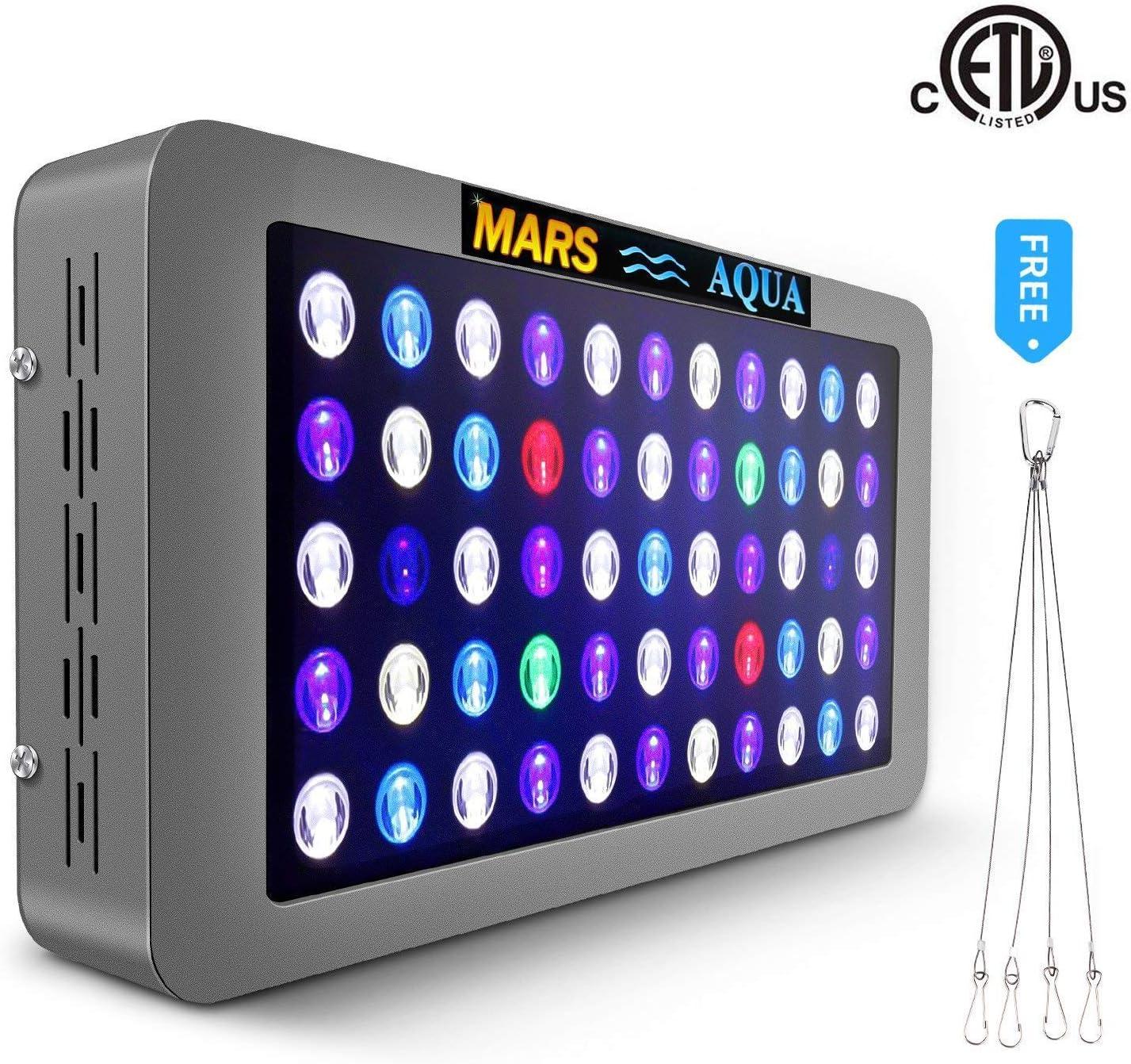MarsAqua Dimmable LED Aquarium Light