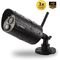 Sequro 720p HD Camera, Outdoor Home Security Camera Sequro Guardpro DIY Surveillance System (Single Camera)