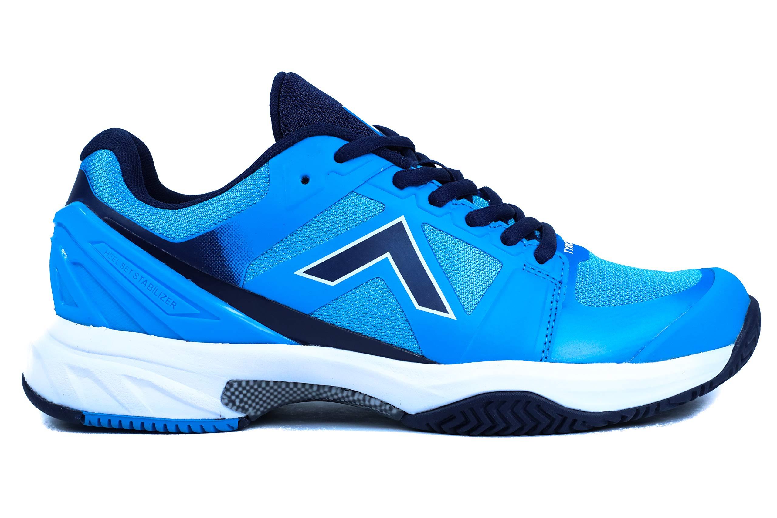Tyrol Men's Striker Pro Series Pickleball Shoe (7.5, e.Blue/Navy)