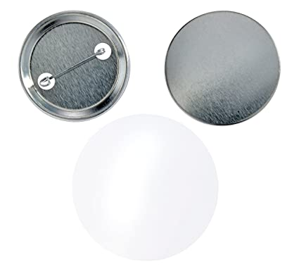 Button Rohlinge 43 mm para con aguja de seguridad para IBP de ...