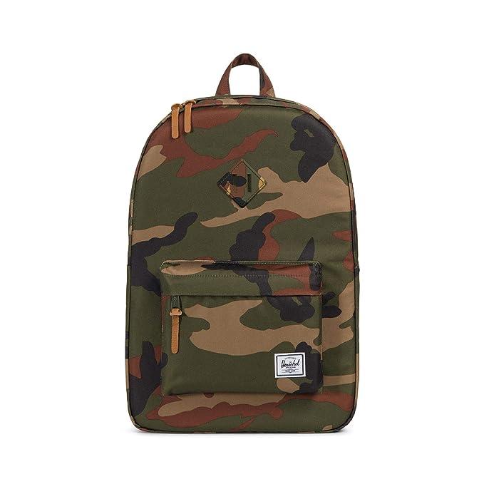 Herschel Heritage Backpack, Woodland Camo, One Size