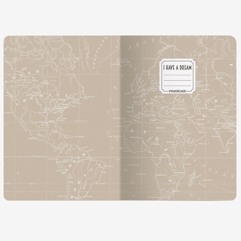 Legami 8051122266227 Agenda 18 Meses, Map: Amazon.es ...
