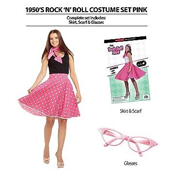 Bristol Novelty AP017 - Disfraz de Rock n Roll de los años 50 ...