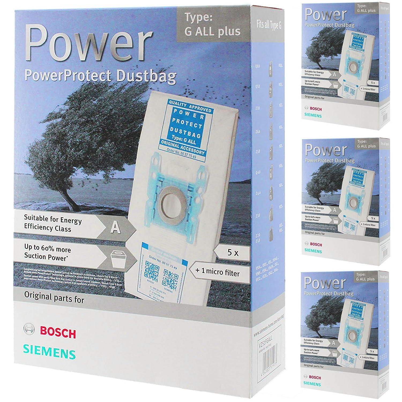Bosch Tipo G ORIGINAL PowerProtect Gamuza de microfibra Aspiradora ...