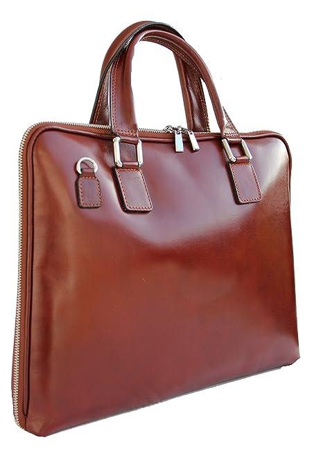 Henkeltasche Handtasche Aktentasche Business Bag Leder braun