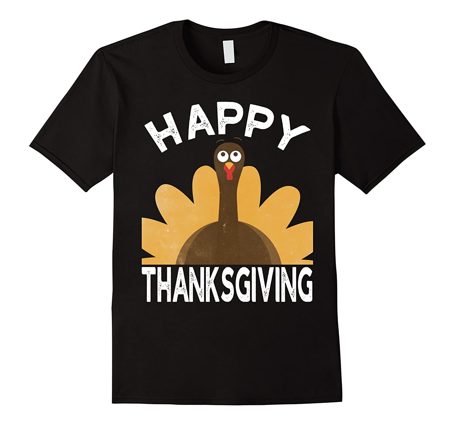 Happy Thanksgiving T-Shirt Cool Turkey Day Gift Shirt-ANZ